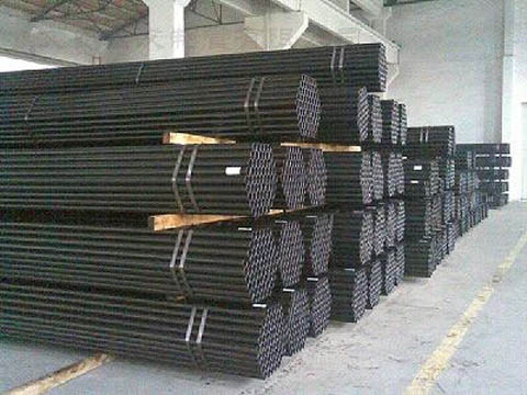 black mild steel pipe