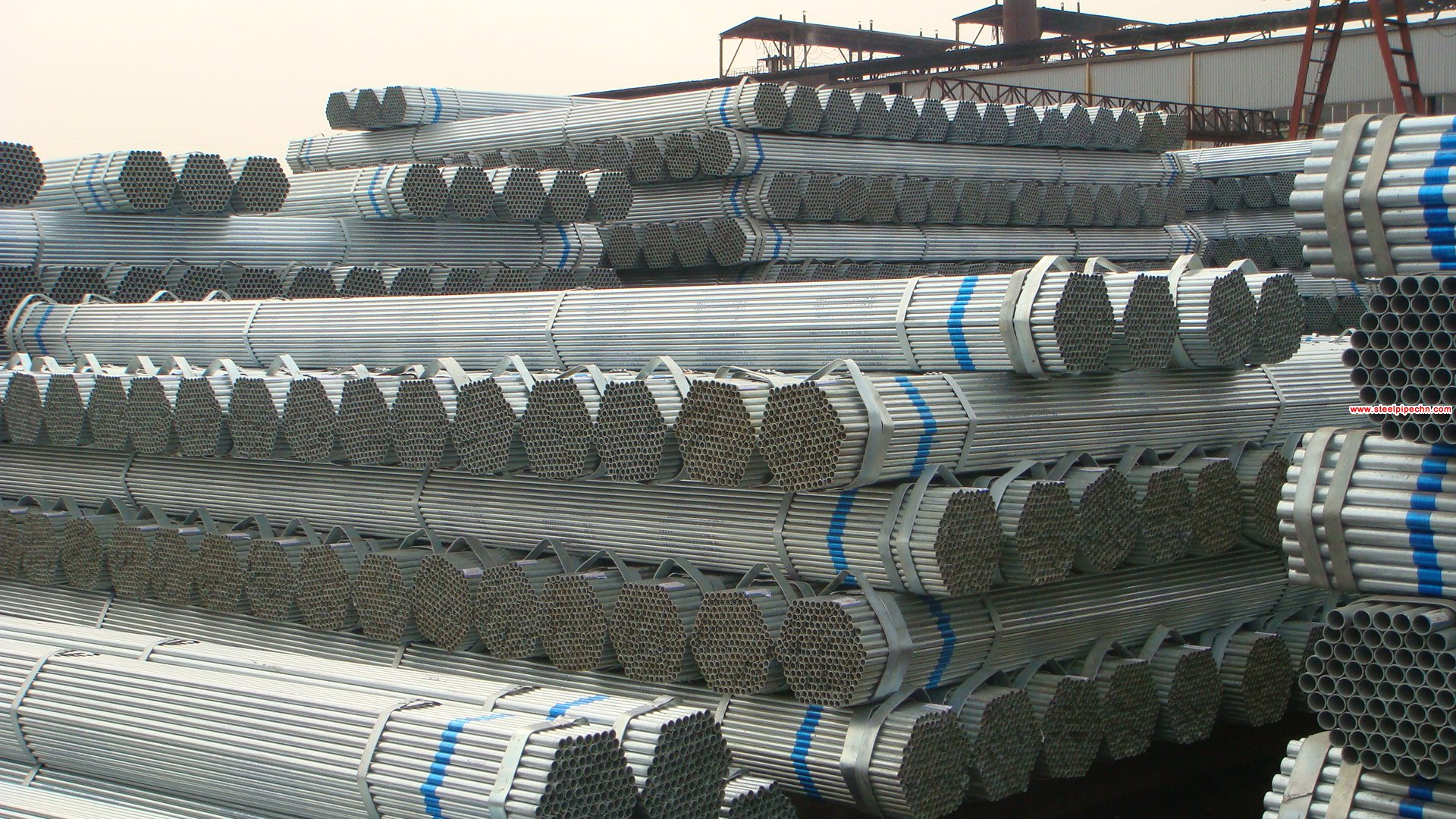BS1387 Galvanized Pipe